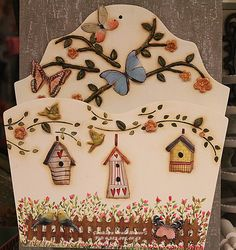 Decoupage Box, Decoupage Vintage, Wood Crafts, Diy And Crafts, Arts And Crafts, Tole Painting, Painting On Wood, Pintura Country, Country Paintings