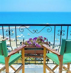 Room with a view at Lordos Beach Hotel in Larnaca, Cyprus! - Wonderful service, felt like home!