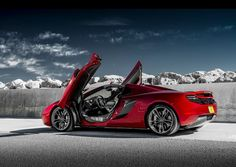 Neiman Marcus Edition 2013 McLaren Spider—one of just 12 made— Fast Sports Cars, Super Sport Cars, Super Cars, Mclaren 12c, Mclaren Cars, Convertible, Mp4 12c, Chevy Girl, Car Wallpapers
