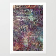 Short Circuit Art Print by Sharon Johnstone - $19.00