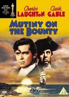 "Mutiny on the Bounty (1935) ~ ""Fletcher Christian successfully leads a revolt against the ruthless Captain Bligh on the HMS Bounty. However, Bligh returns one year later, hell bent on avenging his captors."""