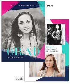 Glamour Grad 5x7 Flat Card