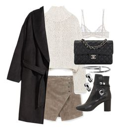 """""""Untitled #20241"""" by florencia95 ❤ liked on Polyvore featuring La Perla, MANGO, Zara, H&M, Chanel and Isabel Marant"""
