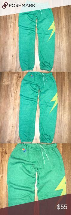 Aviator Nation sweatpants size s Aviator Nation sweatpants size s in preowned condition Aviator Nation Pants Track Pants & Joggers