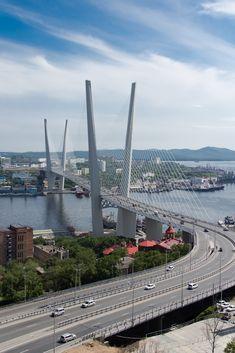 Zolotoy Bridge Vladivostok Russia [30994648]