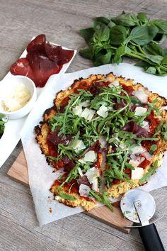 Blog Cuisine & DIY Bordeaux - Bonjour Darling - Anne-Laure: Pizza légère pâte chou-fleur