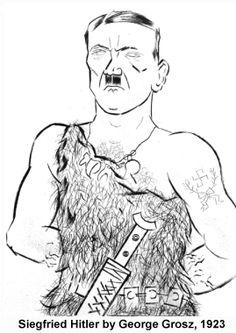 El primero que se atrevió a caricaturizar a Hitler