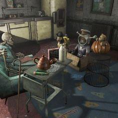 Für solche Szenen 'liebe' ich Fallout. :) Fallout-Screenshots (6)... #Fallout #fallout4 #fo4 #bethesda #screenshot #bedtimestories #gutenacht #geschichte
