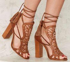 Schutz 'Dubai' Leather Heels