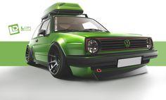 volkswagen golf mk2 by Lopi-42.deviantart.com on @deviantART
