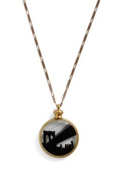 A-bridged Works Necklace