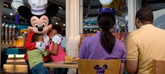 A list of Character Dining available at Walt Disney World  | Chip and Co