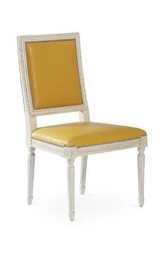 Yellow Dining Side Chair
