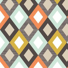 linendiamonds fabric by mrshervi on Spoonflower - custom fabric