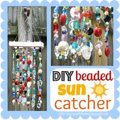 DIY Beaded Sun Catcher