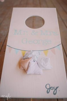 Wedding games :) you can totally make your own corn hole! This would be such a fun thing to do! Lets do this!