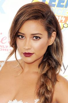 What are Shay Mitchell's best makeup moments? We rounded up 12 of her best looks.