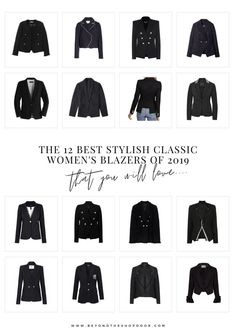 The 12 Best Stylish Classic Women's Blazers of 2019 Dress Up Jeans, Military Style Jackets, Women's Blazers, Double Breasted Blazer, Edgy Look, Blazer Fashion, Blazer Buttons, International Fashion, Military Fashion