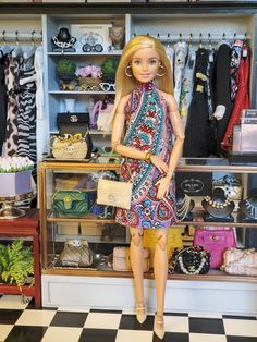 Barbie Model, Barbie And Ken, Barbie Dolls, Barbie Diorama, Diy Barbie Clothes, Cute Outfits For Kids, Gravity Falls, New Look, House Ideas