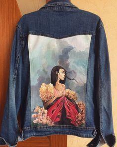 Рисунок на джинсовке