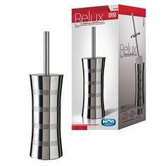 Escova para Banheiro M Mor Relux 8474 em Aço Inox - Acessórios no Extra.com.br