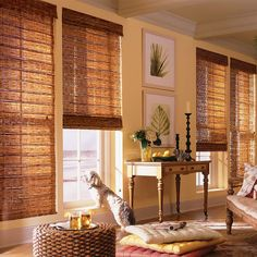 Premier Bamboo Shades from SelectBlinds.com