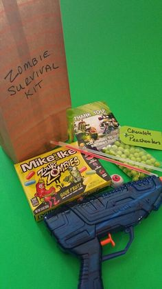 Zombie Survival Kit goodie bags