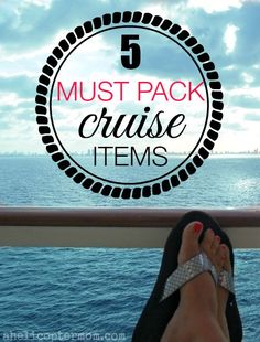 5 Must Pack Cruise Items - Cruise Travel Tips .Summer love...How to travel in style on a cruise holiday...resort fashion, beautiful swimming pools, every destination you can dream of...bon voyage