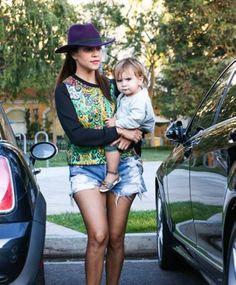 Kourtney Kardashian - Dinner with Scott Mason and Penelope Disick Style