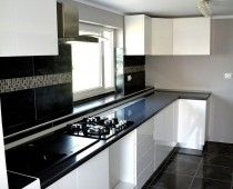 Bucatarie Alb Lucios Kitchen Cabinets, Dressing, Modern, Home Decor, Trendy Tree, Decoration Home, Room Decor, Cabinets, Home Interior Design