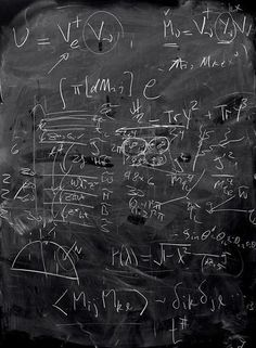 Photographer Alejandro Guijarro's series, Momentum, is a collection of images that show the post-lecture blackboards at leading quantum mechanics research institutions.