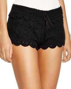 This rustic, crocheted design from Surf Gypsy is equal parts playful and romantic. Reach for these shorts when strolling down the boardwalk, sightseeing around town or simply lazing under the sun. | C