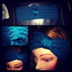 Hand crocheted head warmer by KiwisCloset on Etsy, $10.00