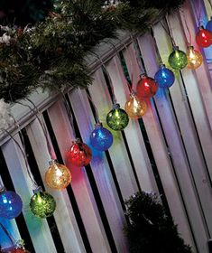 Holiday Decorating|The Lakeside Collection - Solar String Lights