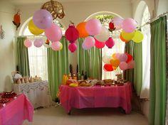 Festa de aniversário; Tema: a Fada (2011)