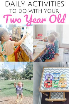 These easy activities are perfect to do with a 2 year old! Wondering how to keep your two year old entertained all day? Finding the right daily structure or schedule and filling it with the right, age-appropriate activities is the BEST way to keep your 2 year old happy! Click to learn how to structure the day with your toddler and what to do with a toddler all day. | #toddler #routine #daily #schedule #activities #easy #24months #learning #preschool #homeschool #stayathomemom