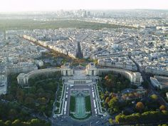 """The """"Aerial view of cities"""" thread seems to have disappeared for some reason :( so I hope it's okay if I make a new one. Interesting Buildings, Urban Planning, Aerial View, Paris Skyline, City Photo, Relax, Paris France, Travel, Image"""