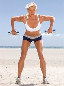 Do Jackie Warner's Power Circuit: Lose 10 pounds in 4 weeks.