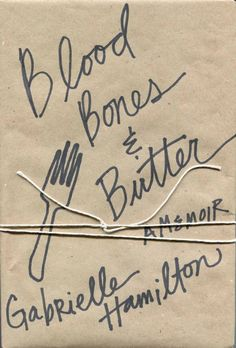 Blood Bones and Butter Design by Lynn Buckley