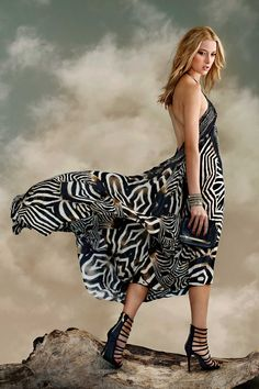 Designer Dresses   Maxi Dress   V Neck Dress Long Shahida Parides - Shahida Parides