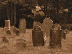 Old Cemetery - Cemeteries & Graveyards Photo- I can walk through old graveyards reading the stones for hours.