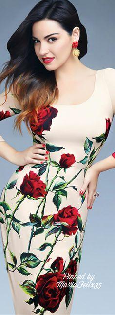 Maite Perroni for Glamour Magazine Mexico                                                                                                                                                     More