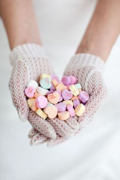 candy pastel hearts