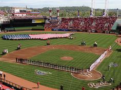 Opening Day 2012 - Great American Ball Park.