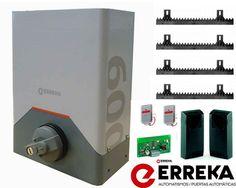 Erreka rino motor corredera - http://www.automatismosypuertas.es/erreka-rino-motor-corredera/