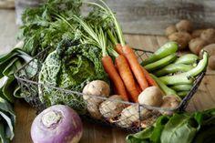 Lista de intercambio de vegetales y vegetales feculentos o almidones.