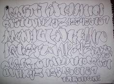 Graffiti Alphabet, Graffiti Letters A-Z