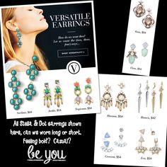 Stella & Dot - earrings