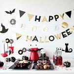 Se acerca una de las noches más terroríficas del año. Decora tu fiesta, con el Kit imprimible Halloween, guirnaldas, letras, banderines... descúbrelo.