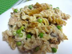 Healthy Tuna Casserole. (no canned soup necessary!) #FitFluential